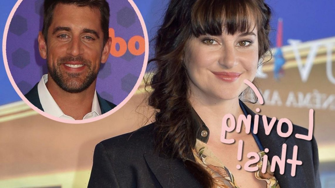 Shailene Woodley Says She 'Jumped In Headfirst' With Aaron Rodgers & 'Immediately' Moved In With Him!
