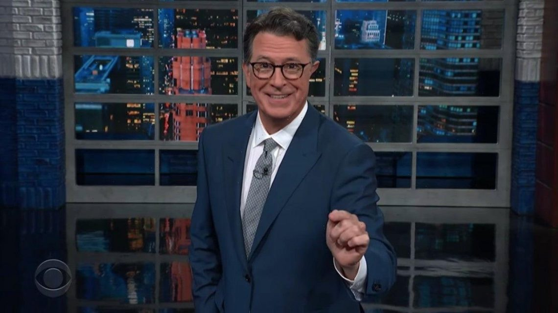 Stephen Colbert Returns to 'The Late Show' With a Live Studio Audience
