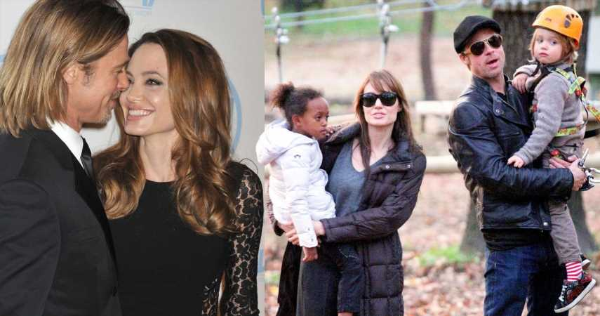 The $14 Million Baby Photos: When Angelina & Brad Beat The System