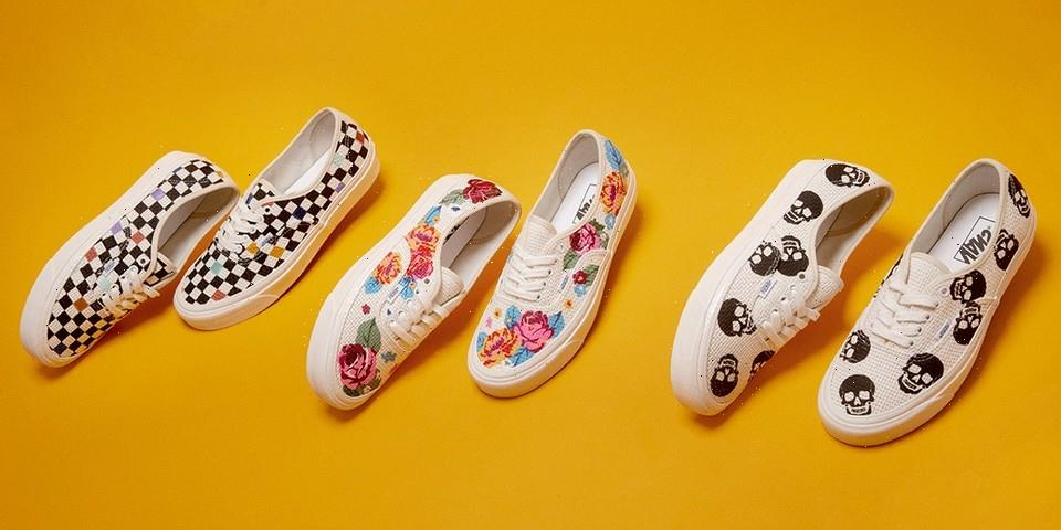 Vans Anaheim Factory Unveils New Needlepoint Authentic 44 DX and Apparel Capsule