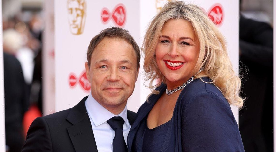 Who is Stephen Graham's wife Hannah Walters as she stars alongside him in series Time