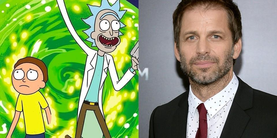 Zack Snyder Reveals He Is Open to Directing Possible 'Rick and Morty' Movie