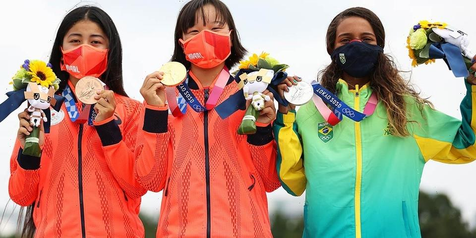 13-Year-Old Skateboarder Momiji Nishiya Becomes Japan's Youngest Olympic Gold Medalist