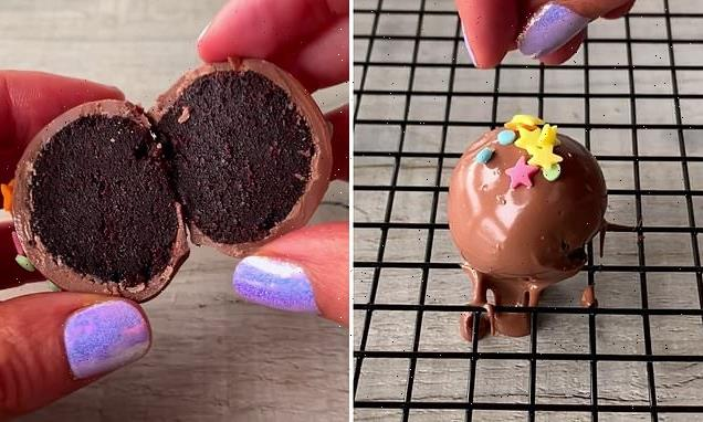 Baker wows with three-ingredient recipe for chocolate cake balls