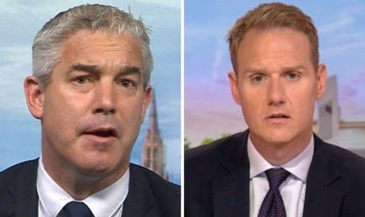 Dan Walker erupts as Barclay defends Priti Patel in Mings row Not on the same page
