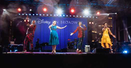 Disney, With Benefit Concert, Makes an Early Return to Broadway