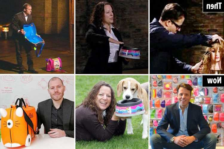 Dragons' Den judges laughed at our 'tacky' ideas – but we showed them who's boss and went on to make MILLIONS