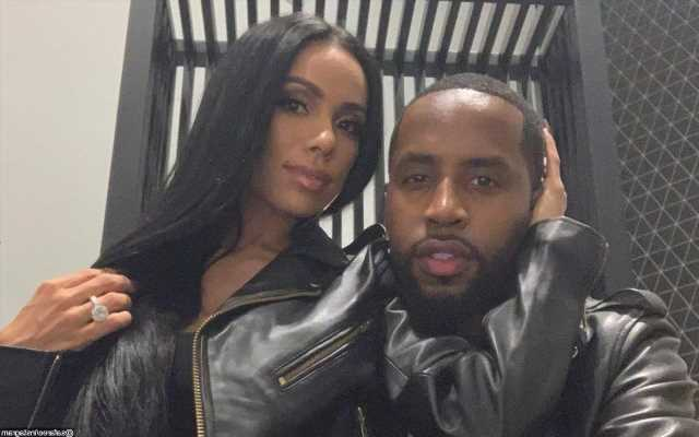Erica Mena Appears to Call Safaree Samuels a Liar for Accusing Her of Vandalism