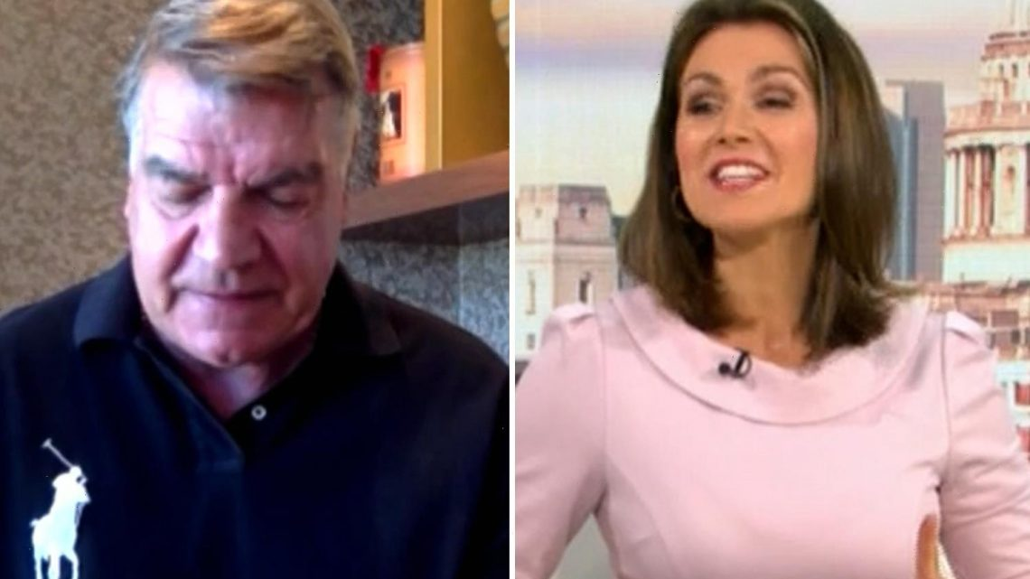 Good Morning Britain blunder as Sam Allardyce's phone rings live on air – and he looks mortified