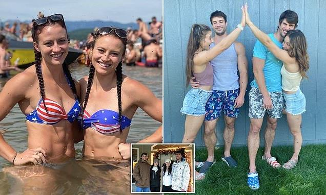 Identical twin sisters, 25,  are dating identical twin brothers, 29