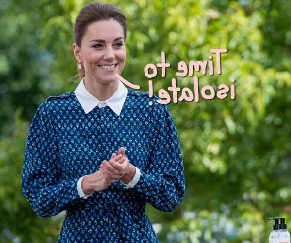 Kate Middleton Is Self-Isolating At Home After Coming Into Contact With COVID-Positive Person