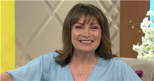 Lorraine Kelly says drag queens reuse old dresses she wears on ITV talk show
