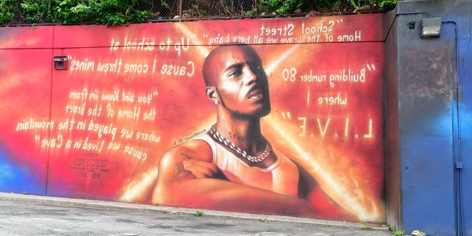 Mural Honoring DMX Unveiled at the Late Rapper's Former Yonkers Home