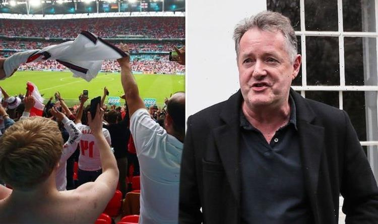 Piers Morgan urges England fans to be 'classy and respectful' amid hypocrisy claims