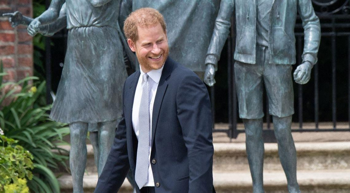 Prince Harry lands in the US two days after unveiling Princess Diana statue