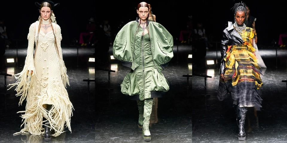 Take a Look at the Jean Paul Gaultier Paris sacai Haute Couture FW21 Collection