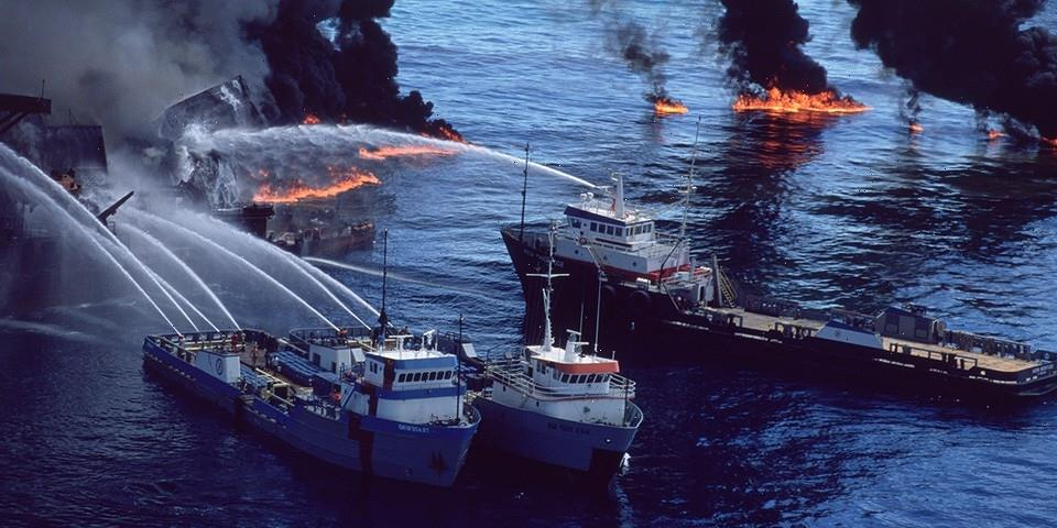 The Internet Is Losing It Over the 'Eye of Fire' Burning in Mexican Waters