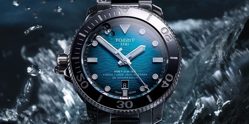 Tissot Charts New Depths with 2000ft Seastar Professional