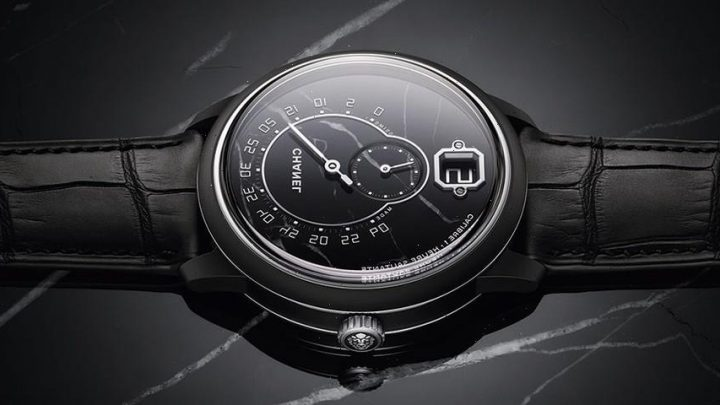 Chanel Revisits Monsieur With Marble Dial Limited Edition