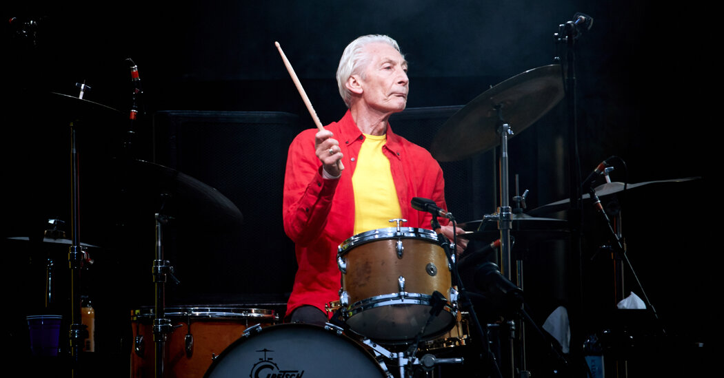Charlie Watts, Bedrock Drummer for the Rolling Stones, Dies at 80