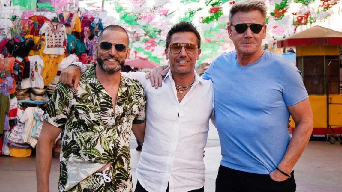 Covid fears cut short Gordon Ramsay, Gino and Fred's latest road trip series in Egypt