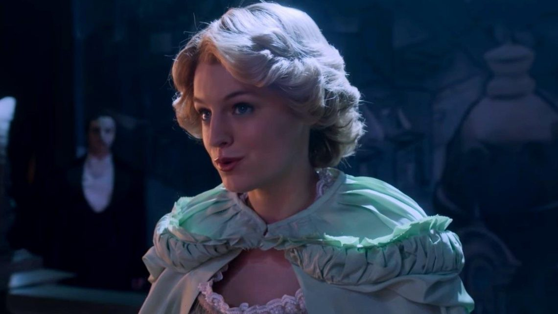 Emma Corrins Princess Diana Takes The Phantom of the Opera Stage in The Crown Deleted Scene