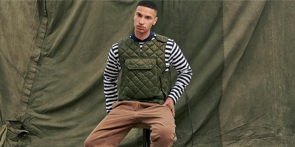 Engineered Garments Updates Barbour's Traditional Quilting for FW21