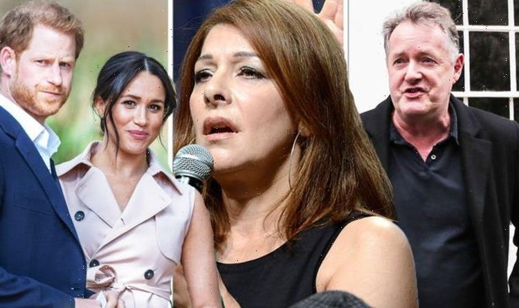 I agreed with Piers then ducked Star Treks Marina Sirtis on Harry and Meghan backlash