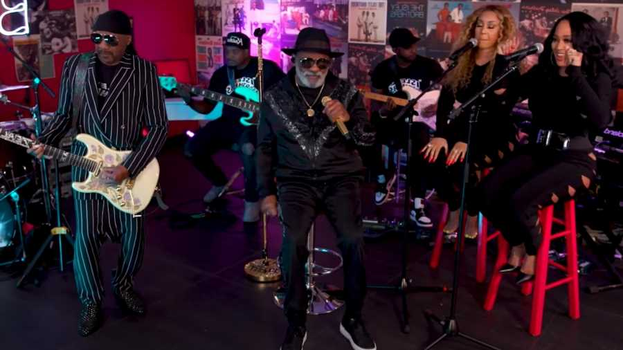 Isley Brothers Deliver All the Classics During 'Tiny Desk (Home) Concert'