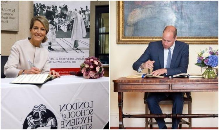 Left-handers have better brains says Prince William – which royals are left-handed?