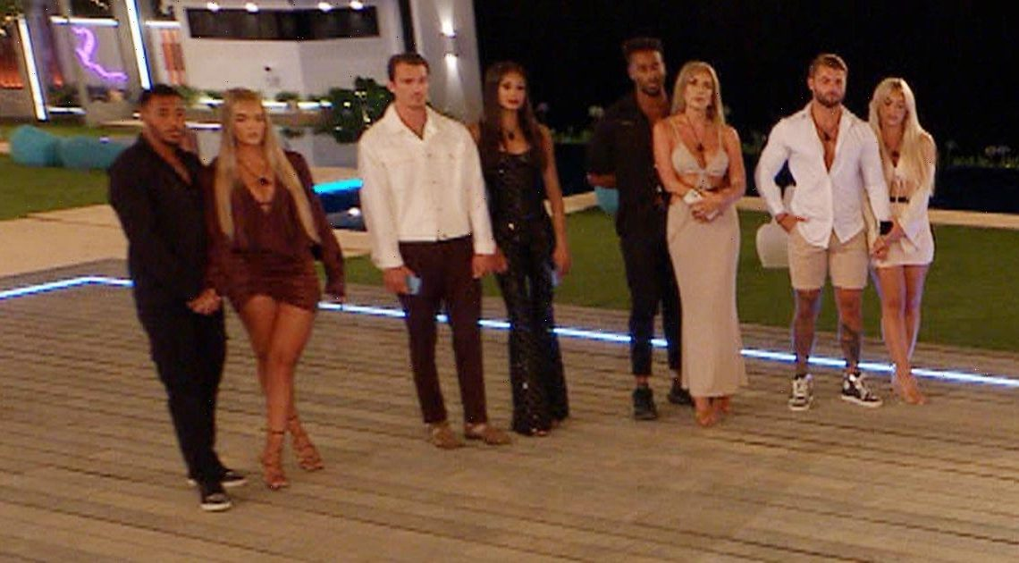 Love Island couple has already been dumped from villa and heading home after vote