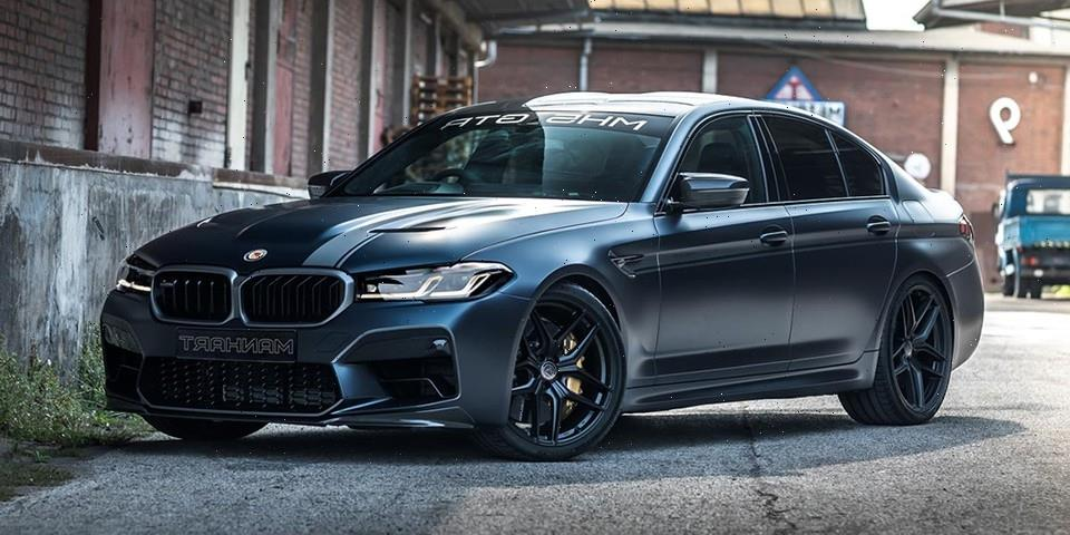 MANHART Builds One-Off BMW M5 CS-Based MH5 GTR With 788 HP
