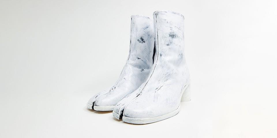 Maison Margiela Applies Hand-Painted Effect to Its Tabi Boots