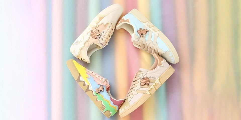 """Melting Sadness and adidas Scoop up a Four-Shoe """"Melting Ice Cream"""" Collection"""
