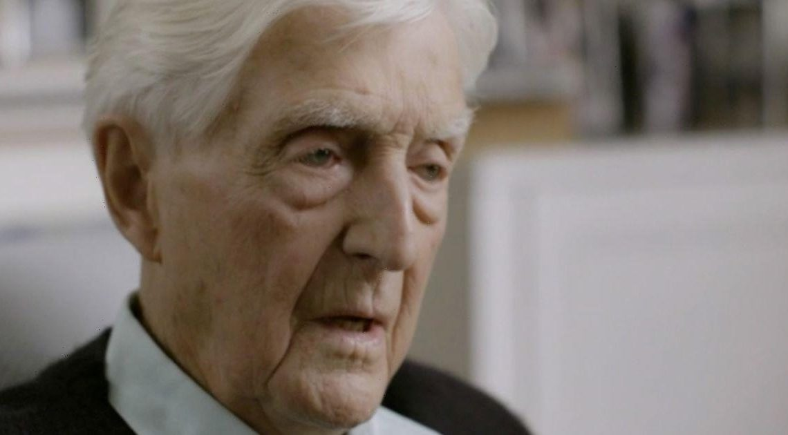 Michael Parkinson tears up as he views unforgettable interview with scientist
