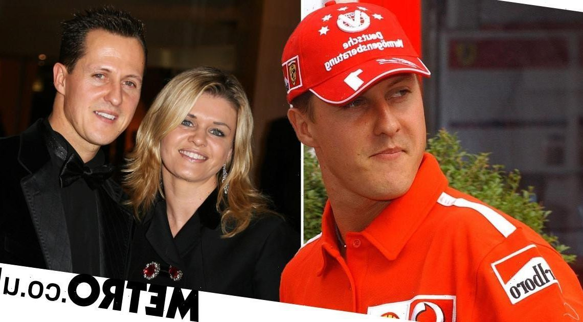 Michael Schumacher's wife says F1 legend 'shows me how strong he is everyday'