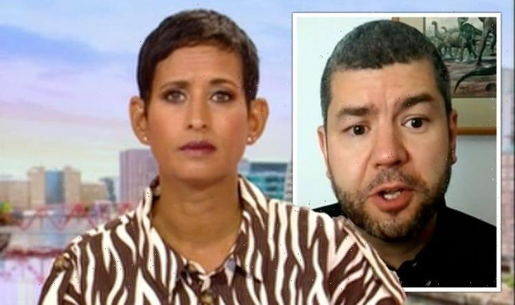 Naga Munchetty addresses stupid question to guest as expert leaves BBC star embarrassed