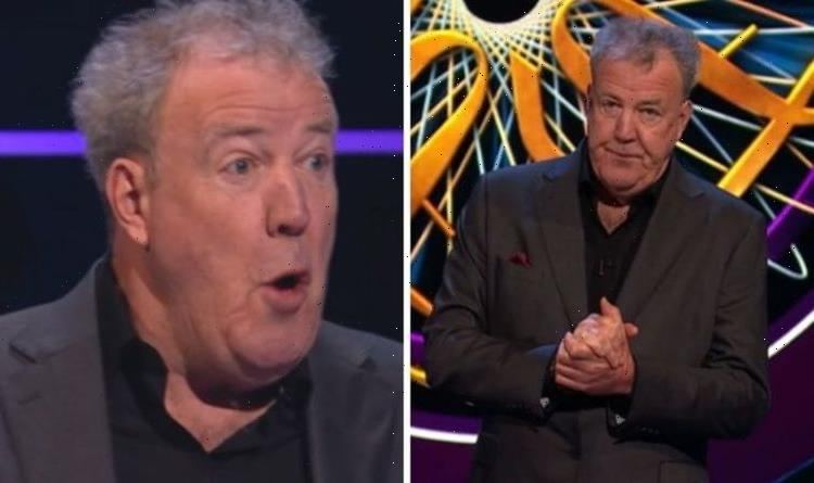Never happened before Jeremy Clarkson taken aback after WWTBAM show first