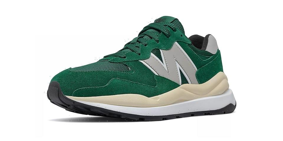 """New Balance 57/40 """"Green/Rain Cloud"""" is Available Now"""