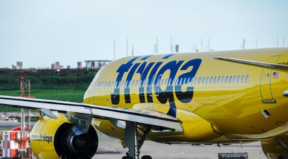 """Spirit Airlines cancels 60% of scheduled flights on third day of """"operational issues"""""""