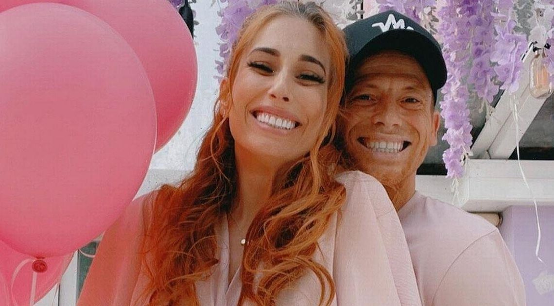 Stacey Solomon grateful as she is told baby girl is happy, comfy and safe after scan
