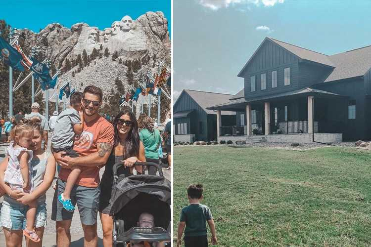 Teen Mom trolls slam Chelsea Houska's new 'ugly' home after she tells fans to 'paint your house black' like hers