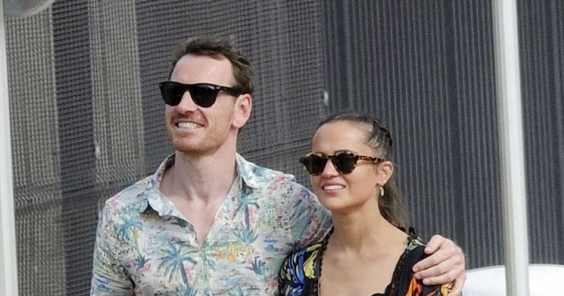 The Fassbenders go for a stroll in Spain, more celebrity pics for Aug. 23-28, 2021