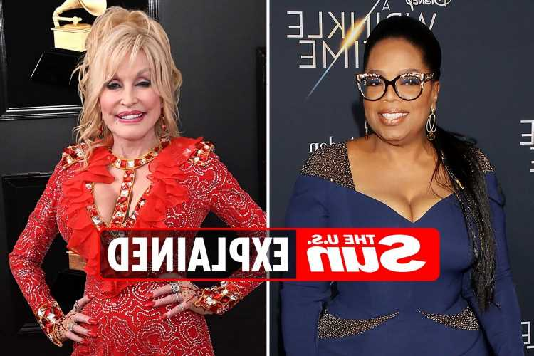 Why is Oprah's interview with Dolly Parton trending?