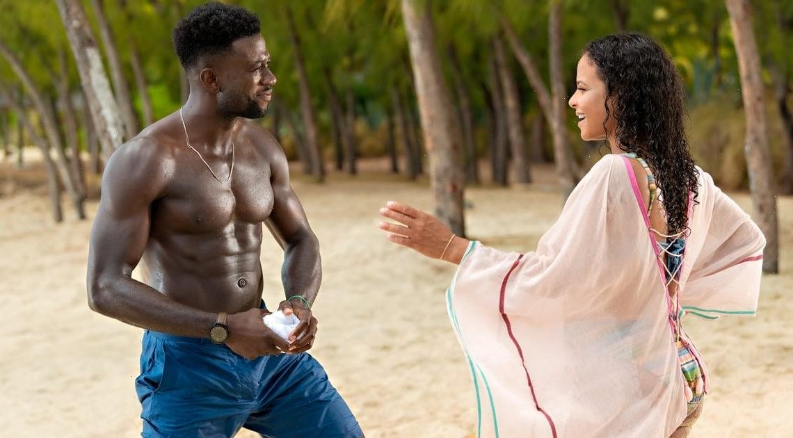 Yes, Netflix's Resort to Love Was Filmed on a Tropical Island — Even Those Snowy Scenes