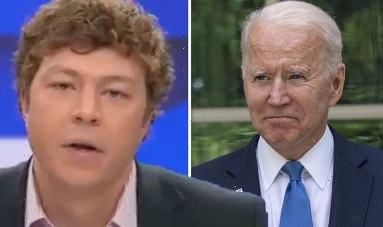'Americans should be asking for a refund! GB News host erupts at Biden over Afghanistan