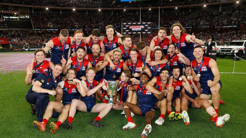 'Drought-breaker with a team of destiny': The Dees' grand final win
