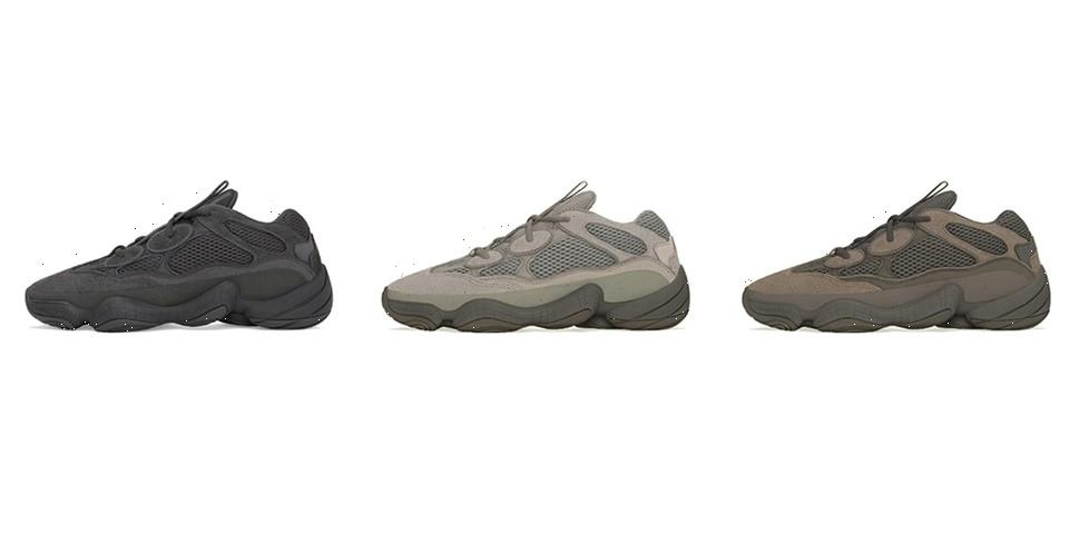 A Trio of adidas YEEZY 500s are Slated to Drop During Fall/Winter 2021