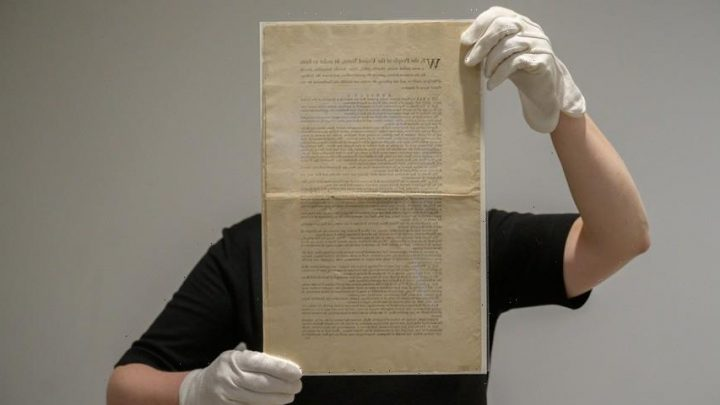 An Ultra-Rare Copy of the US Constitution Will Go On Auction This November