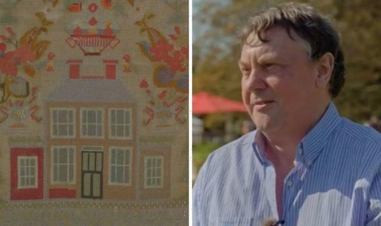 Antiques Roadshow guest refuses to sell 140-year-old heirloom embroidery Not important